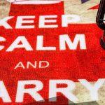 ZY HOME Personnalité de la mode ronde classique pour faire le vieux drapeau rétro Angleterre bar drapeau salon ordinateur fauteuil tapis tapis mat, 100cm * 100cm de la marque ZY HOME image 1 produit